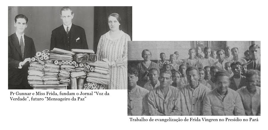 Gunnar Vingren e Frida Vingren